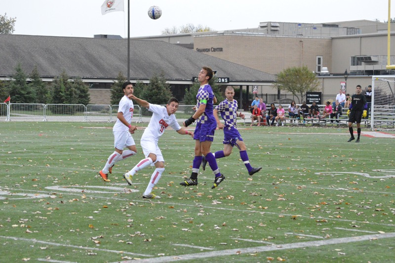 4th SXU Men's Soccer vs Olivet Nazarene (Ill.) 10/12/13 Photo