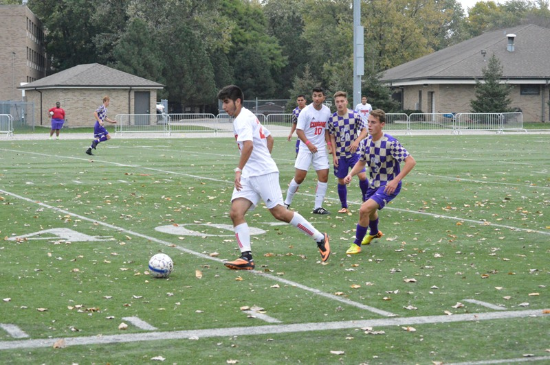 5th SXU Men's Soccer vs Olivet Nazarene (Ill.) 10/12/13 Photo