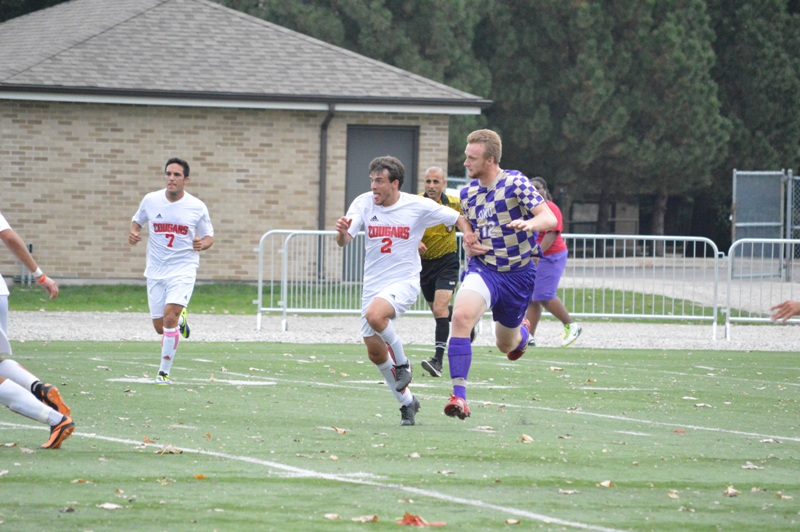 12th SXU Men's Soccer vs Olivet Nazarene (Ill.) 10/12/13 Photo