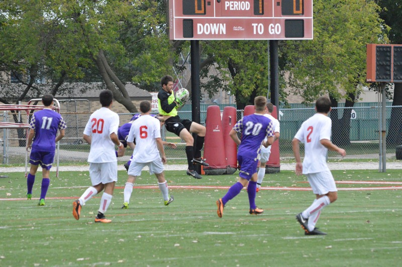 17th SXU Men's Soccer vs Olivet Nazarene (Ill.) 10/12/13 Photo