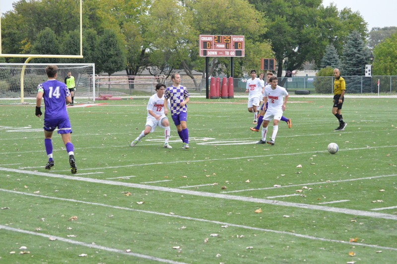 18th SXU Men's Soccer vs Olivet Nazarene (Ill.) 10/12/13 Photo