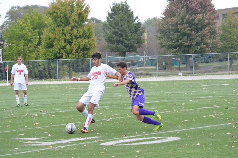 23rd SXU Men's Soccer vs Olivet Nazarene (Ill.) 10/12/13 Photo