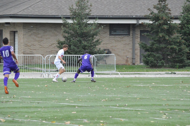 26th SXU Men's Soccer vs Olivet Nazarene (Ill.) 10/12/13 Photo