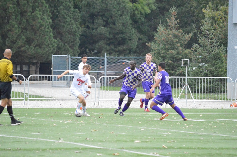 28th SXU Men's Soccer vs Olivet Nazarene (Ill.) 10/12/13 Photo