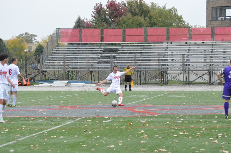 29th SXU Men's Soccer vs Olivet Nazarene (Ill.) 10/12/13 Photo