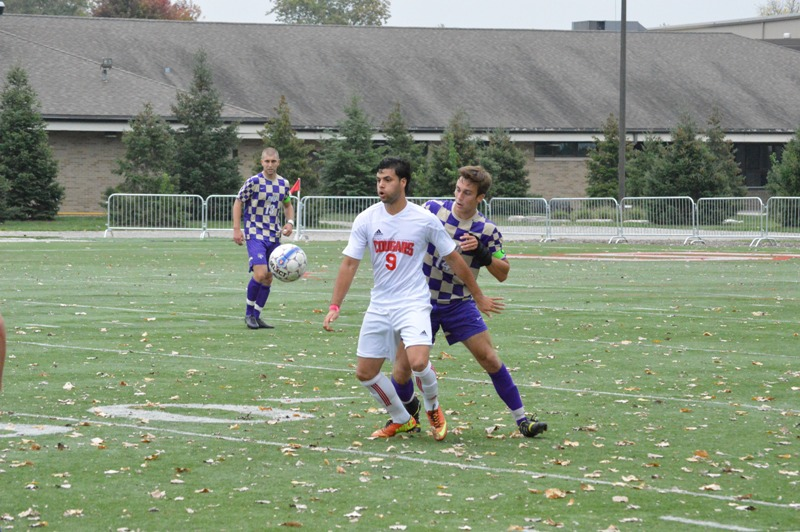 30th SXU Men's Soccer vs Olivet Nazarene (Ill.) 10/12/13 Photo