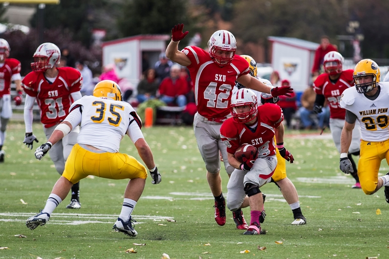 SXU Football vs. William Penn University - 10-26-13 - Photo 7