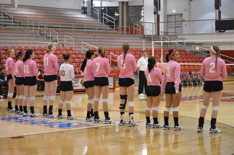 1st SXU Women's Volleyball vs Trinity International (Ill.) 10/29/13 Photo