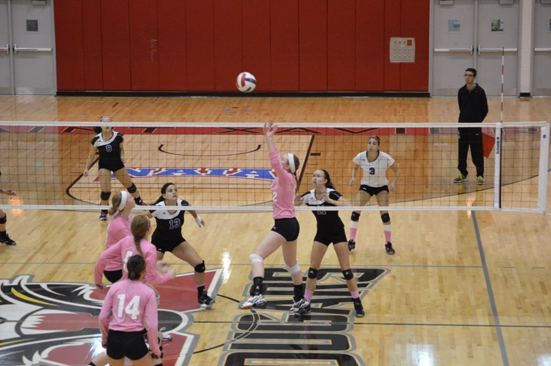 8th SXU Women's Volleyball vs Trinity International (Ill.) 10/29/13 Photo