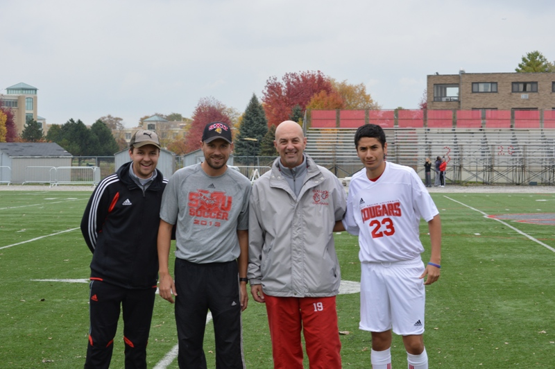 2nd SXU Men's Soccer vs Roosevelt (Ill.) 11/2/13 Photo