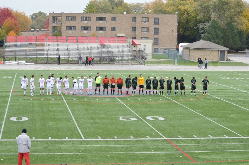 7th SXU Men's Soccer vs Roosevelt (Ill.) 11/2/13 Photo