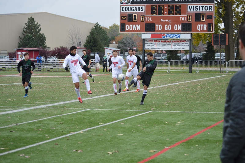 13th SXU Men's Soccer vs Roosevelt (Ill.) 11/2/13 Photo