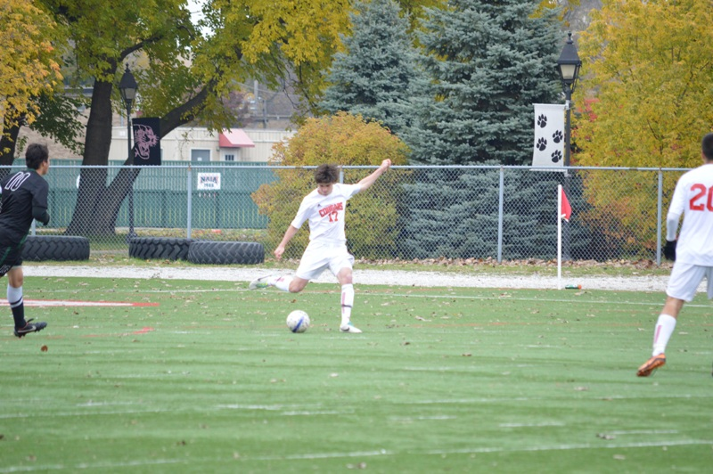 17th SXU Men's Soccer vs Roosevelt (Ill.) 11/2/13 Photo