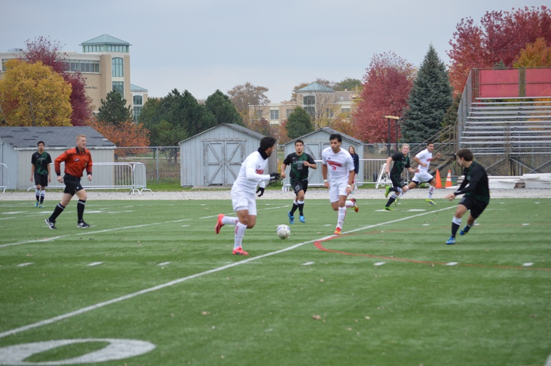 19th SXU Men's Soccer vs Roosevelt (Ill.) 11/2/13 Photo