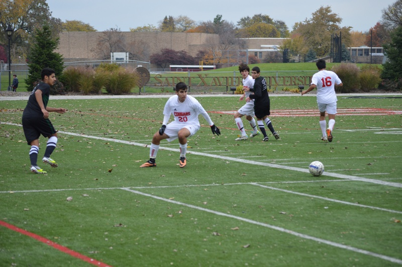 25th SXU Men's Soccer vs Roosevelt (Ill.) 11/2/13 Photo
