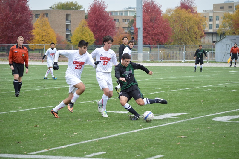 33rd SXU Men's Soccer vs Roosevelt (Ill.) 11/2/13 Photo