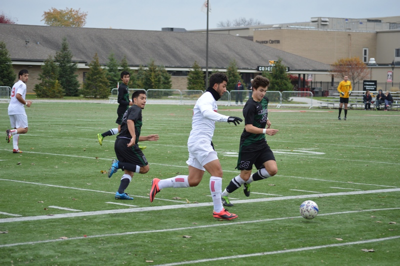 34th SXU Men's Soccer vs Roosevelt (Ill.) 11/2/13 Photo