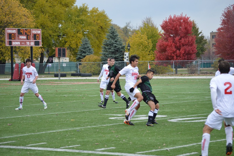 35th SXU Men's Soccer vs Roosevelt (Ill.) 11/2/13 Photo