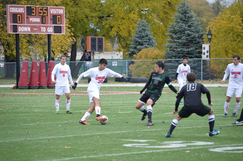 37th SXU Men's Soccer vs Roosevelt (Ill.) 11/2/13 Photo