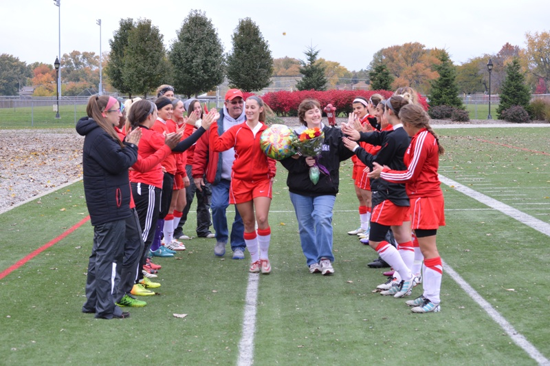 3rd SXU Women's Soccer vs Roosevelt (Ill.) 11/2/13 Photo