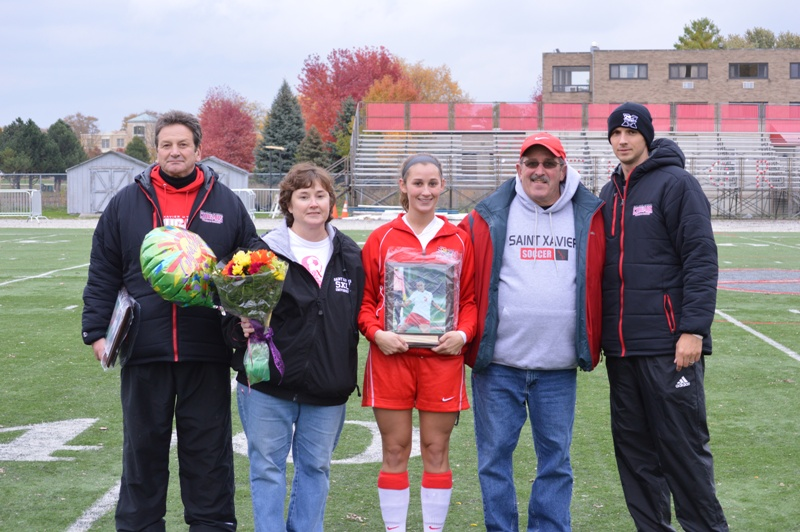 4th SXU Women's Soccer vs Roosevelt (Ill.) 11/2/13 Photo