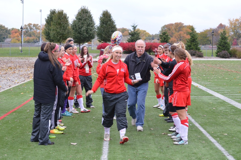 5th SXU Women's Soccer vs Roosevelt (Ill.) 11/2/13 Photo