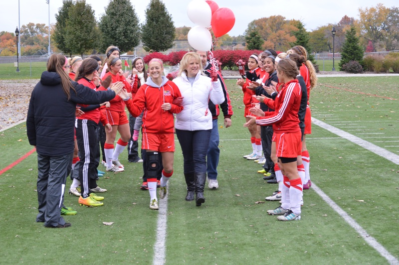 7th SXU Women's Soccer vs Roosevelt (Ill.) 11/2/13 Photo
