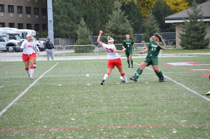 12th SXU Women's Soccer vs Roosevelt (Ill.) 11/2/13 Photo
