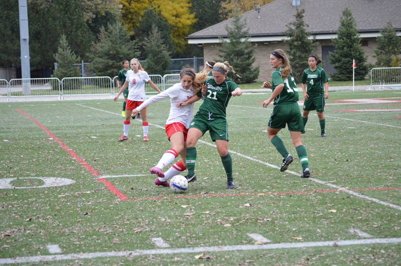 16th SXU Women's Soccer vs Roosevelt (Ill.) 11/2/13 Photo