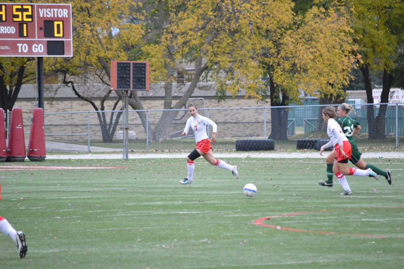 19th SXU Women's Soccer vs Roosevelt (Ill.) 11/2/13 Photo