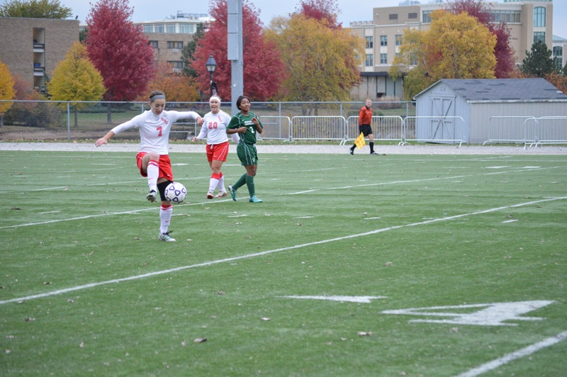 20th SXU Women's Soccer vs Roosevelt (Ill.) 11/2/13 Photo