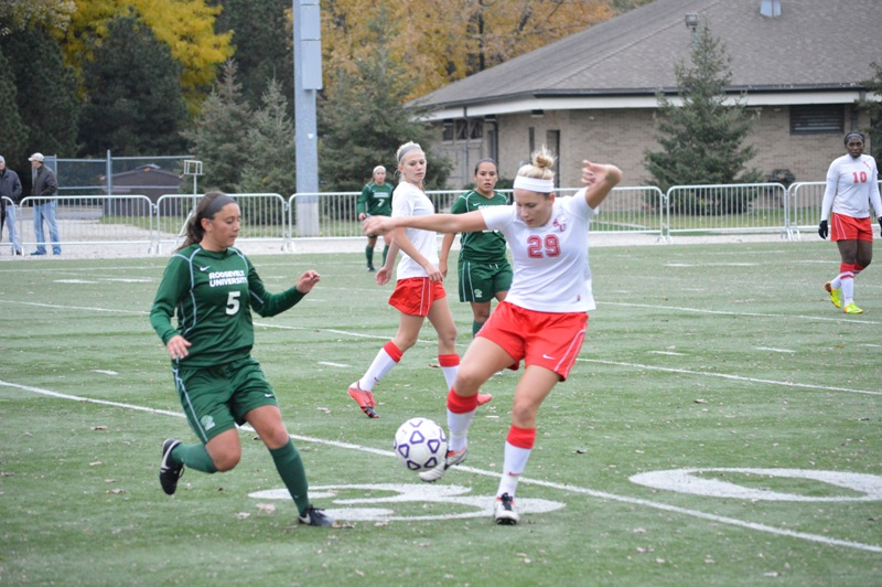 23rd SXU Women's Soccer vs Roosevelt (Ill.) 11/2/13 Photo