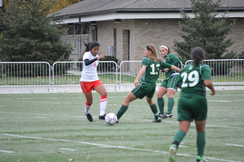 24th SXU Women's Soccer vs Roosevelt (Ill.) 11/2/13 Photo