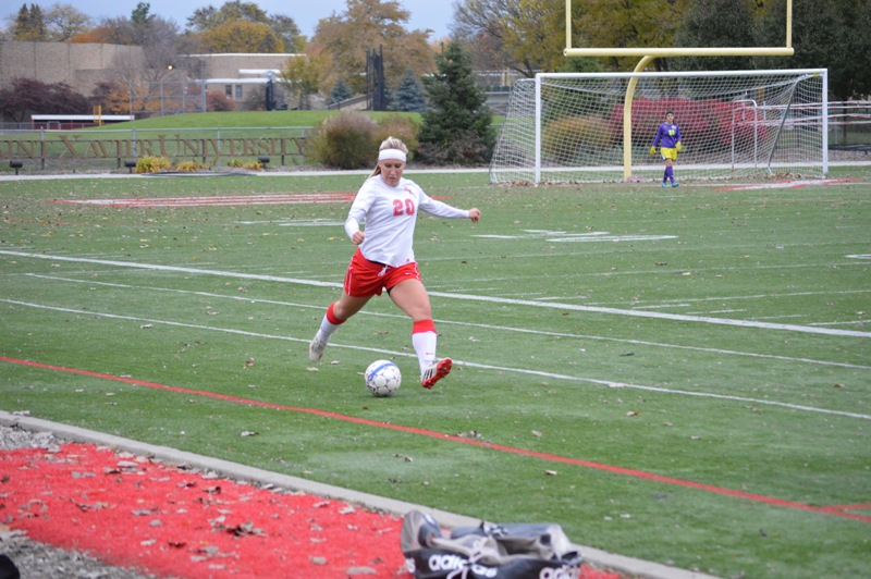 33rd SXU Women's Soccer vs Roosevelt (Ill.) 11/2/13 Photo