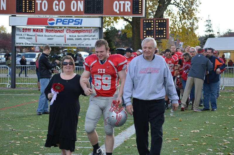 2nd SXU Football vs Trinity International (Ill.) 11/9/13 Photo
