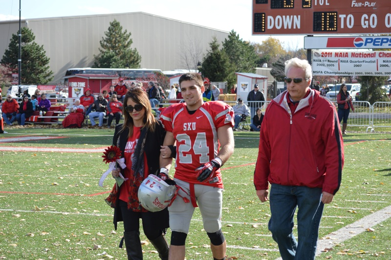 4th SXU Football vs Trinity International (Ill.) 11/9/13 Photo
