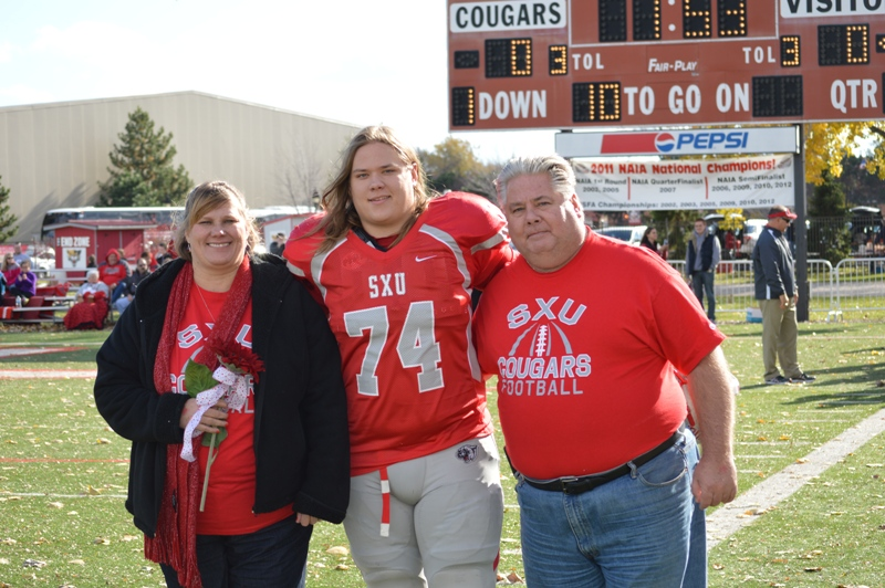 7th SXU Football vs Trinity International (Ill.) 11/9/13 Photo