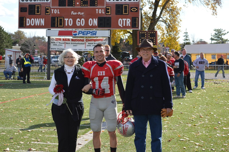 9th SXU Football vs Trinity International (Ill.) 11/9/13 Photo