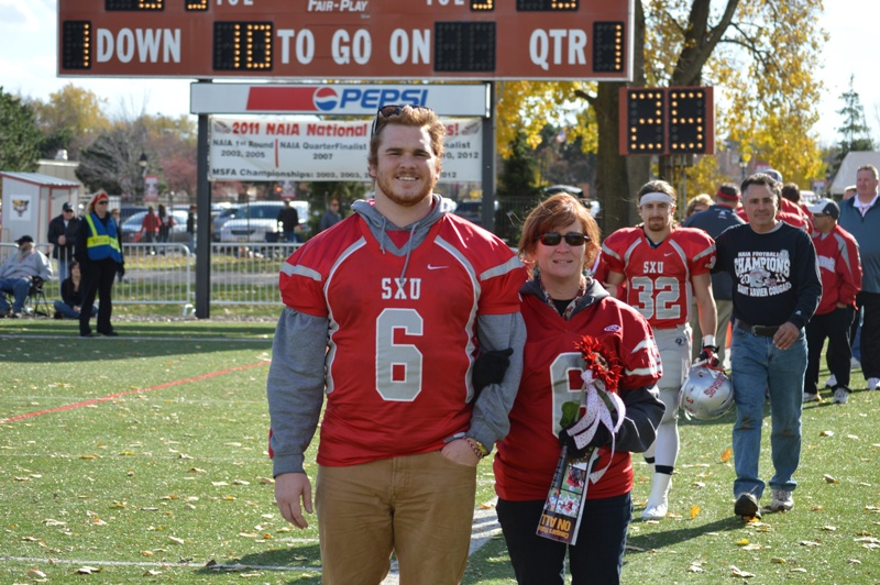 10th SXU Football vs Trinity International (Ill.) 11/9/13 Photo