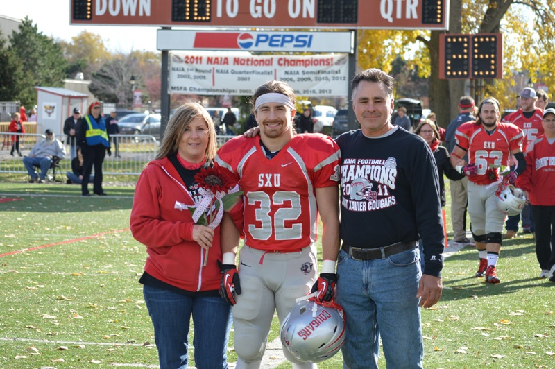 11th SXU Football vs Trinity International (Ill.) 11/9/13 Photo