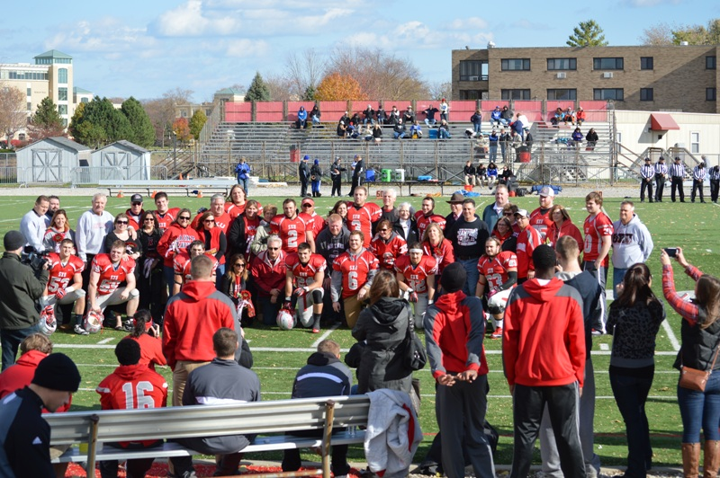15th SXU Football vs Trinity International (Ill.) 11/9/13 Photo