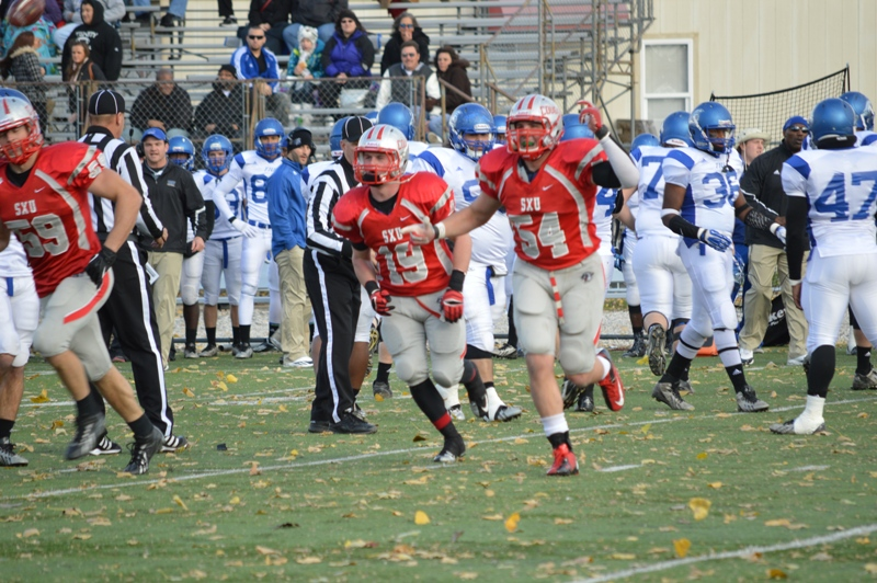 30th SXU Football vs Trinity International (Ill.) 11/9/13 Photo