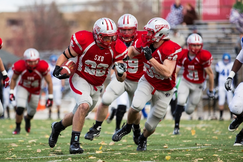 41st SXU Football vs Trinity International (Ill.) 11/9/13 Photo