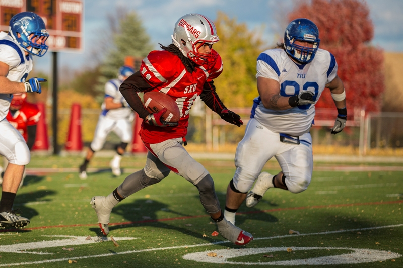 48th SXU Football vs Trinity International (Ill.) 11/9/13 Photo