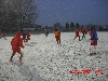 2nd Snow disrupts SXU men's soccer practice 11-11-13 Photo