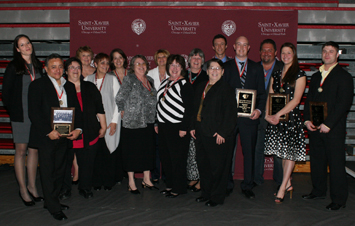 Last year, seven new inductees joined the 2011 SXU Athletics Hall of Fame class