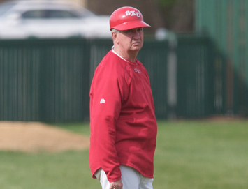 SXU baseball coach Mike Dooley will have his Cougars play St. Francis three times Saturday