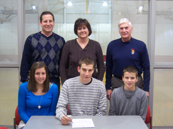 Jack Krieger (bottom middle) will join the Cougar roster in 2011-12