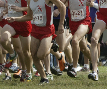 The SXU men's cross country team had a solid outing at the Seal Earl Invite