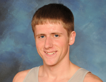 Junior Matt Rychel was a member of the record-setting relay team